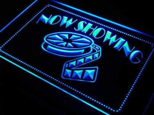 Movie Theater Now Showing Neon Sign (LED)-Way Up Gifts