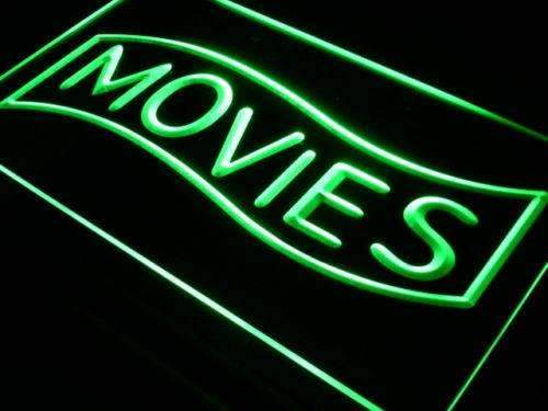 Movies LED Neon Light Sign - Way Up Gifts