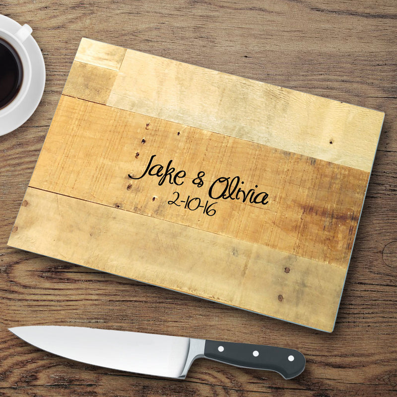 12 Designs Personalized Glass Cutting Boards - Way Up Gifts