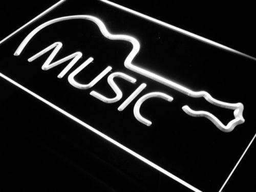 Music Guitar Instruments LED Neon Light Sign - Way Up Gifts