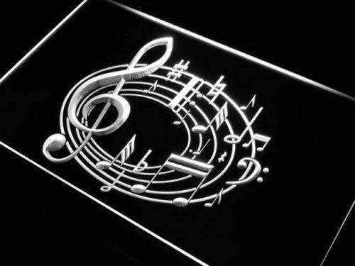 Music Notes LED Neon Light Sign - Way Up Gifts
