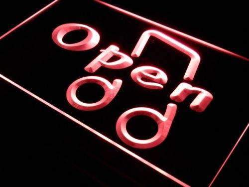 Music Open LED Neon Light Sign - Way Up Gifts