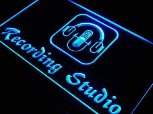 Music Recording Studio LED Neon Light Sign - Way Up Gifts