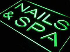Nails Spa LED Neon Light Sign