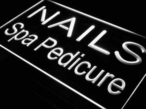 Nails Spa Pedicure LED Neon Light Sign  Business > LED Signs > Barber & Salon Neon Signs - Way Up Gifts