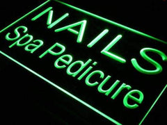 Nails Spa Pedicure LED Neon Light Sign