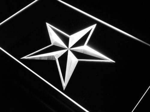 Nautical Star Decor LED Neon Light Sign - Way Up Gifts
