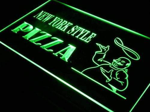 New York Style Pizza LED Neon Light Sign - Way Up Gifts