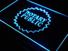 Notary Public LED Neon Light Sign
