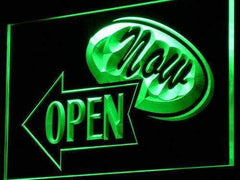 Now Open LED Neon Light Sign
