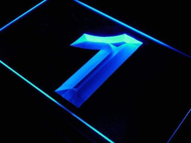 Number One LED Neon Light Sign - Way Up Gifts