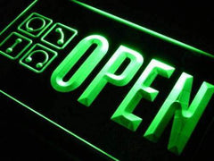 Open Piercing Shop LED Neon Light Sign