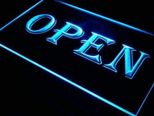 Open Sign Lure LED Neon Light Sign - Way Up Gifts