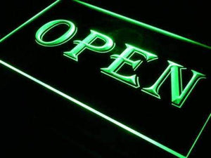 Open Sign Lure Neon Sign (LED)-Way Up Gifts
