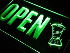 Open Smoothies LED Neon Light Sign