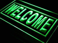 Open Welcome LED Neon Light Sign