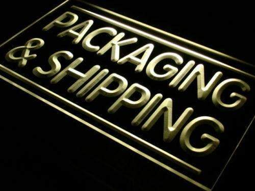 Packaging and Shipping Shop LED Neon Light Sign - Way Up Gifts