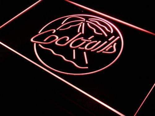 Palm Tree Cocktails LED Neon Light Sign - Way Up Gifts