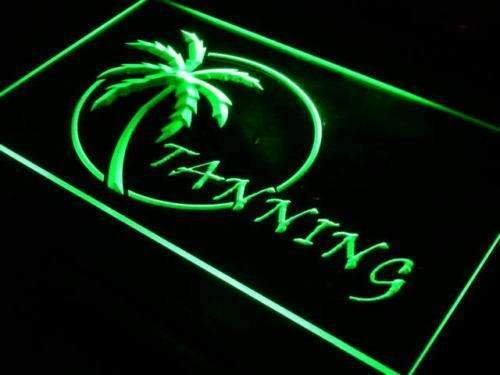 Palm Tree Tanning LED Neon Light Sign - Way Up Gifts