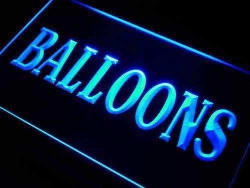 Party Shop Balloons LED Neon Light Sign - Way Up Gifts