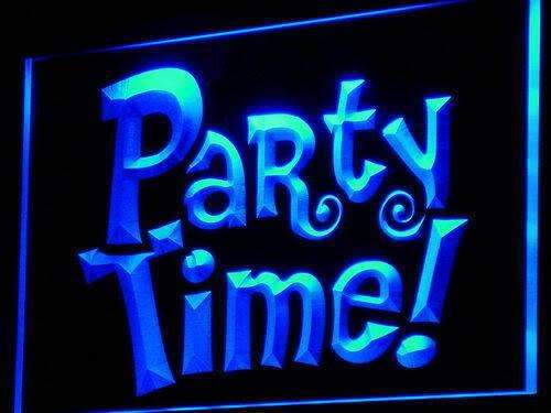 Party Time LED Neon Light Sign - Way Up Gifts