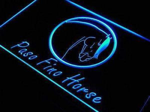 Paso Fino Horse Neon Sign (LED)-Way Up Gifts