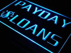Payday Loans LED Neon Light Sign