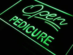 Pedicure Open LED Neon Light Sign