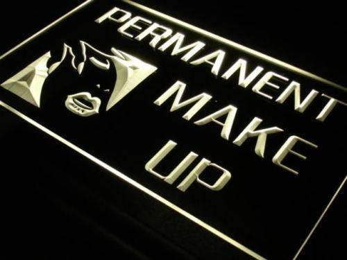 Permanent Make Up LED Neon Light Sign - Way Up Gifts