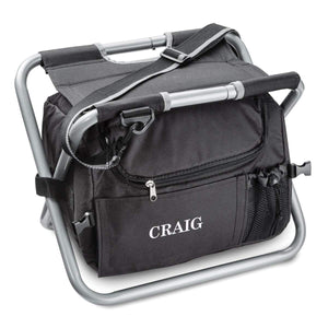 Personalized 2-in-1 Folding Cooler Seat
