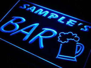 Personalized Bar Beer Mug Neon Sign (LED)-Way Up Gifts