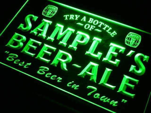 Personalized Beer Ale II LED Neon Light Sign - Way Up Gifts