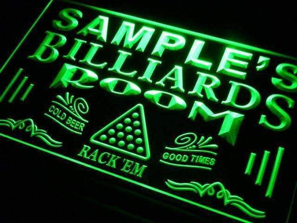Personalized Billiards Man Cave LED Neon Light Sign  Businesss > LED Signs > Custom & Personalized Neon Signs > Personalized Neon Signs - Way Up Gifts