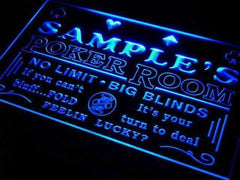 Personalized Casino Poker Room LED Neon Light Sign