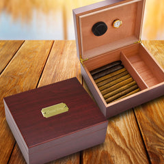 Engraved Cigar Humidor