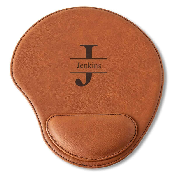 Custom Personalized Rawhide Mouse Pad - Way Up Gifts