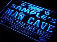 Personalized Football Man Cave LED Neon Light Sign
