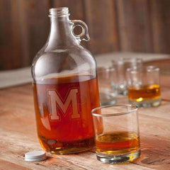 Personalized Collegiate Whiskey Growler