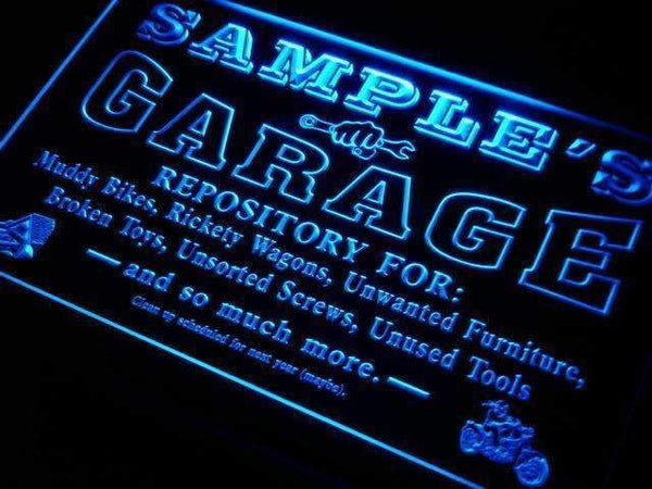 Personalized Garage LED Neon Light Sign  Businesss > LED Signs > Custom & Personalized Neon Signs > Personalized Neon Signs - Way Up Gifts