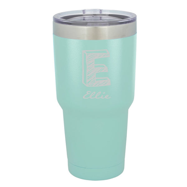 Personalized Húsavík Hot/Cold 30 oz Tumbler - Mint Green