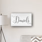 "Personalized Last Name Modern Farmhouse 14"" x 24"" Canvas"
