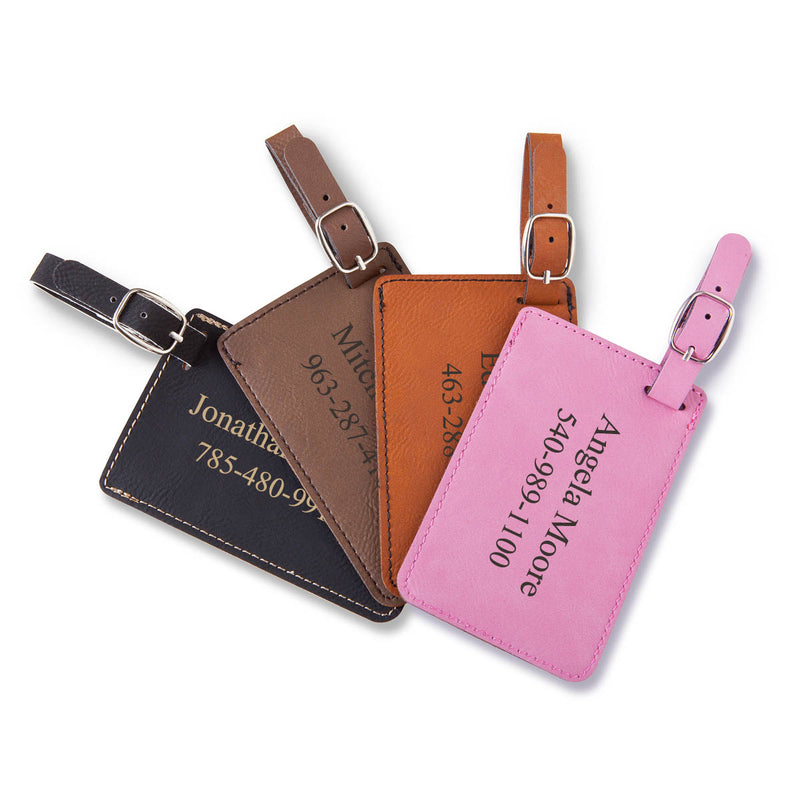 Personalized Luggage ID Tag - Way Up Gifts