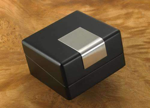 Engraved Luxury Silver Plated Square Cufflinks - Way Up Gifts