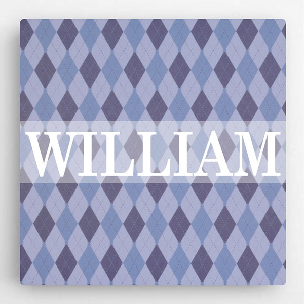 Personalized Pattern Kids Canvas Sign-Boy - Way Up Gifts