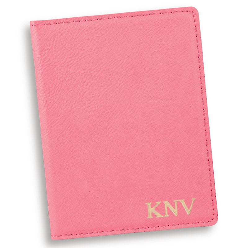 Personalized Pink Passport Cover - Way Up Gifts