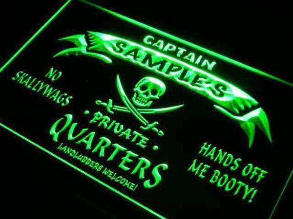 Personalized Private Quarters Pirate LED Neon Light Sign  Businesss > LED Signs > Custom & Personalized Neon Signs > Personalized Neon Signs - Way Up Gifts