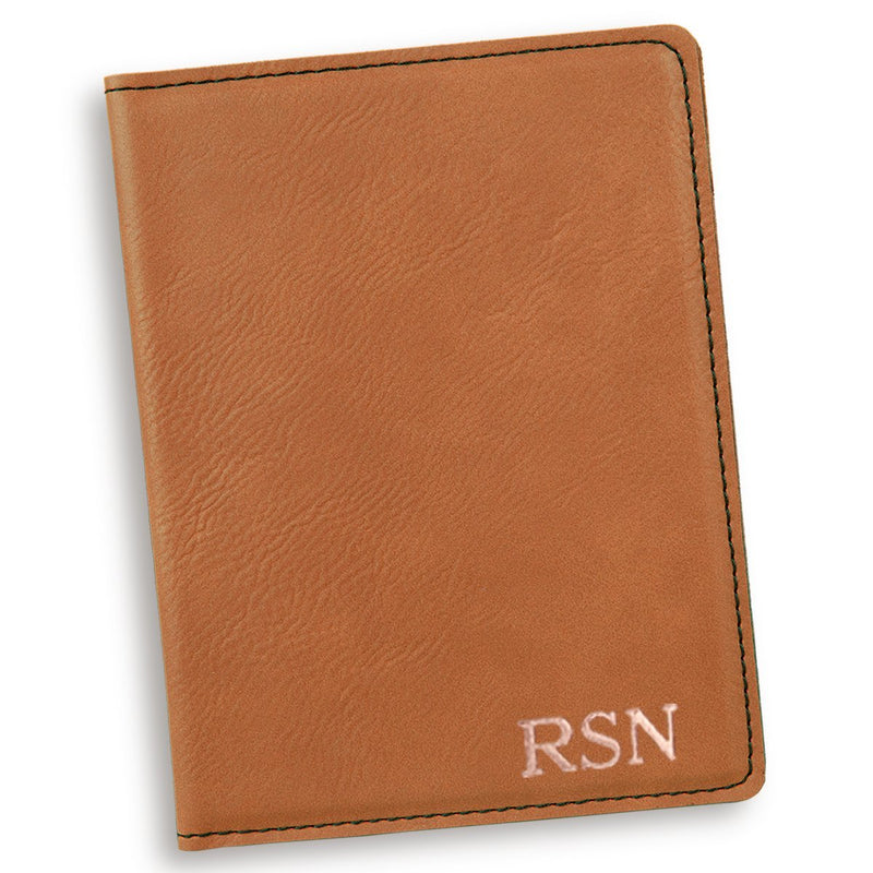 Personalized Rawhide Passport Cover - Way Up Gifts