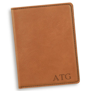 Personalized Rawhide Passport Cover