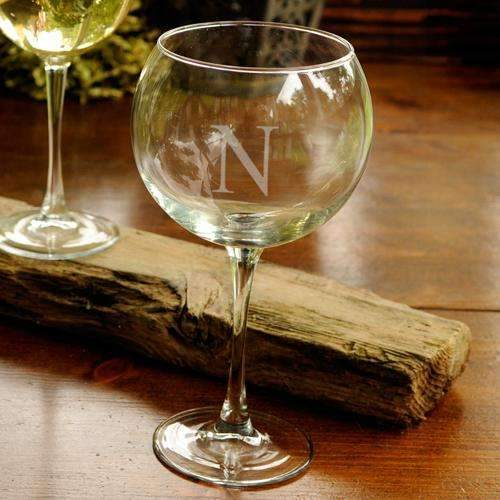 Personalized Red Wine Glass - Way Up Gifts