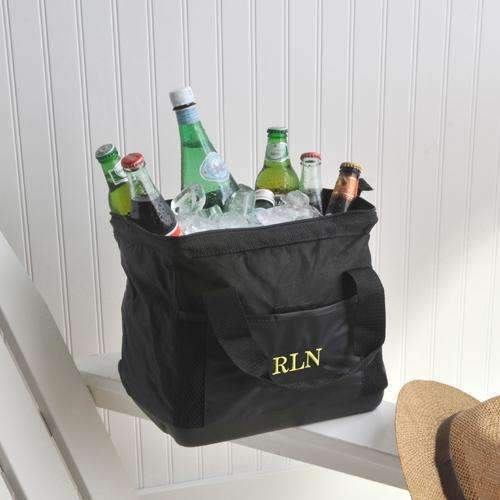 Personalized Soft Black Cooler Bag - Way Up Gifts